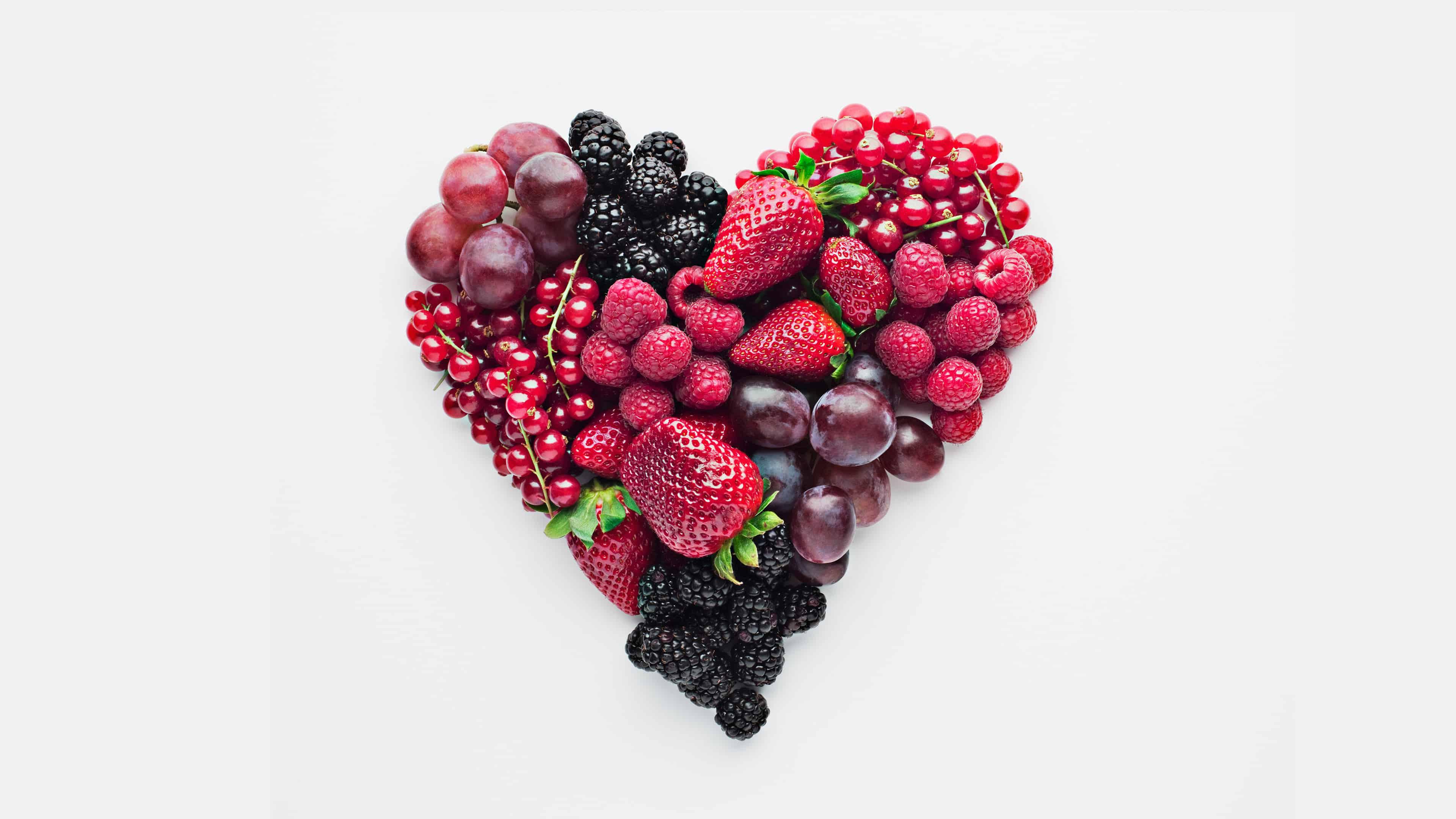 fruit heart uhd 4k wallpaper