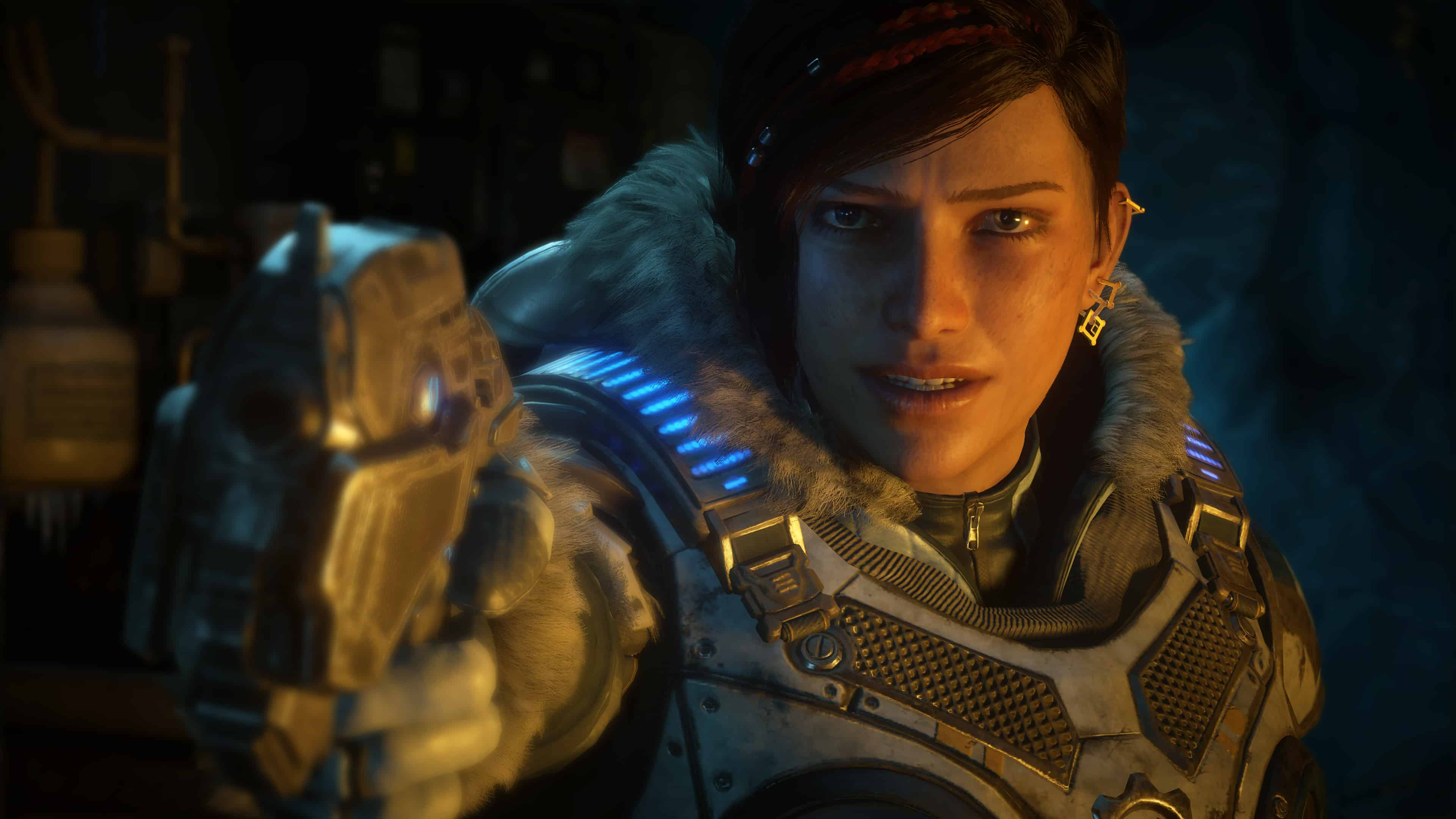gears of war 5 kait diaz uhd 4k wallpaper
