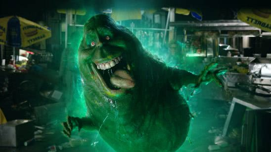 ghostbusters slimer uhd 4k wallpaper