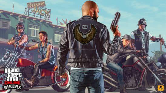 grand theft auto 5 online bikers uhd 4k wallpaper