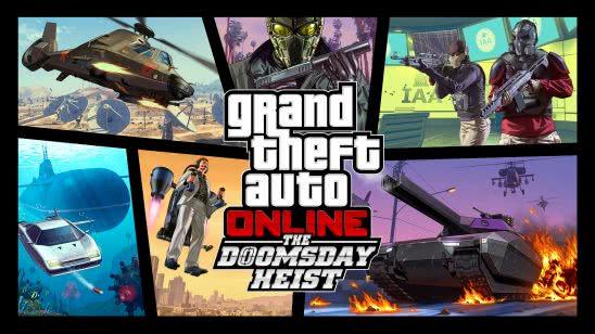 grand theft auto 5 online the doomsday heist dlc uhd 4k wallpaper