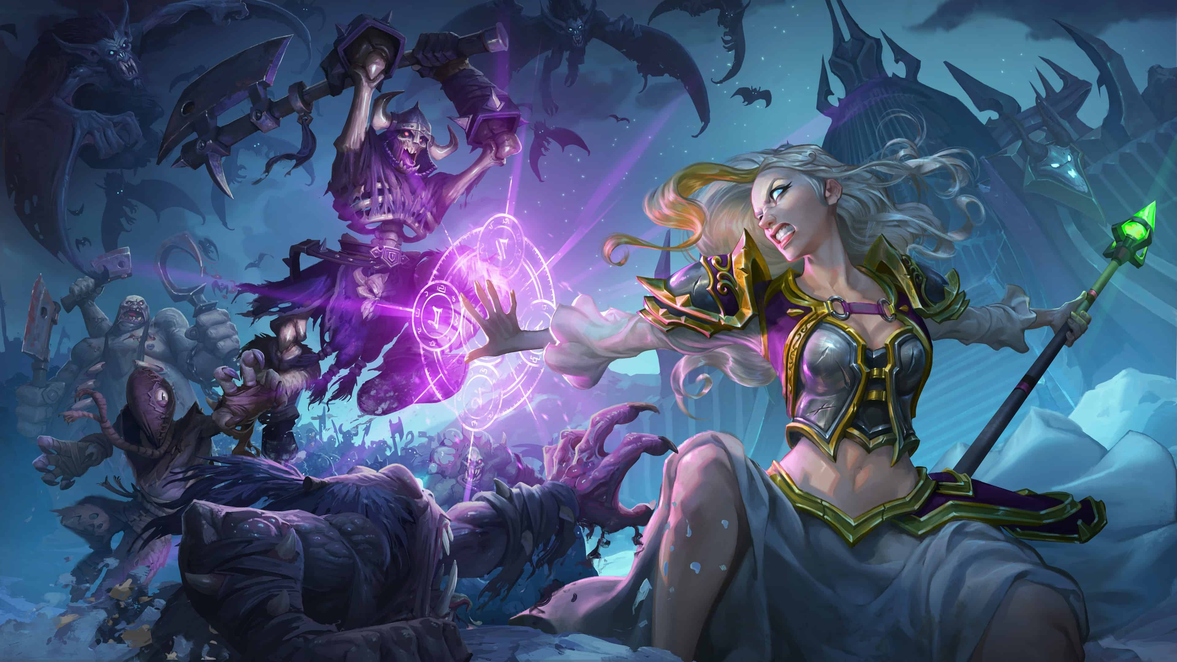 Hearthstone Wallpaper 4k The Best Hd Wallpaper