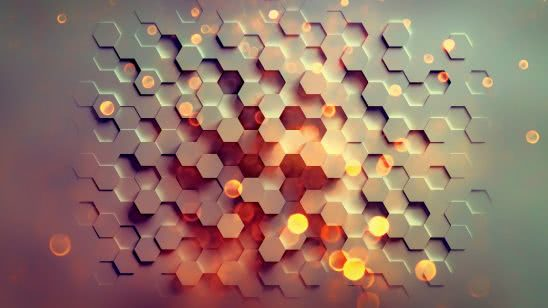 hexagon pattern uhd 4k wallpaper