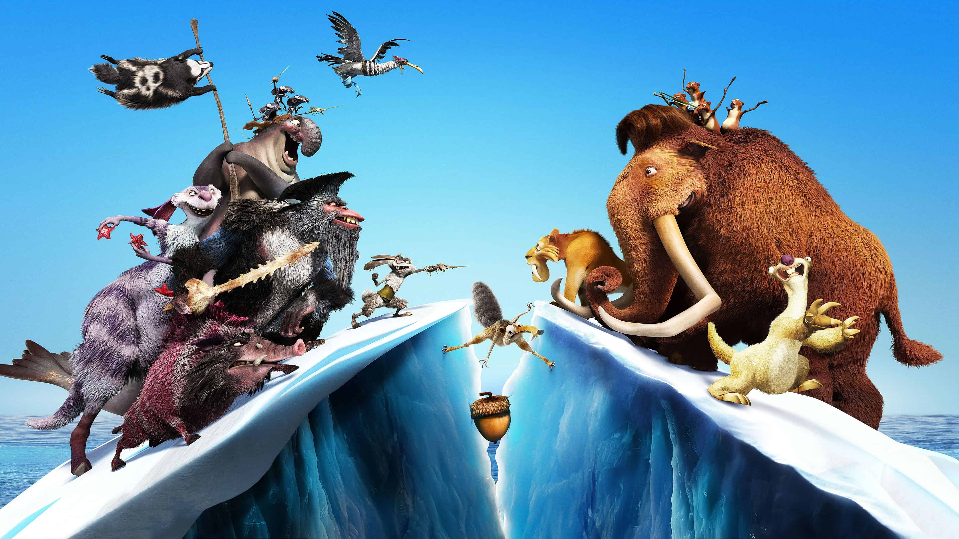 ice age continental drift uhd 4k wallpaper