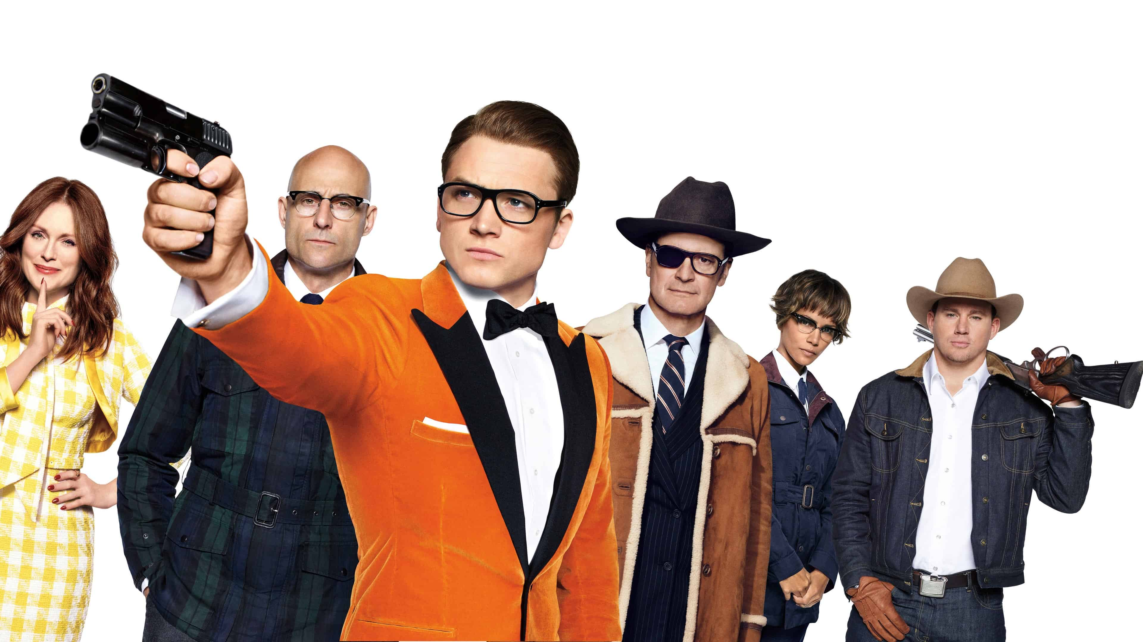 Kingsman The Golden Circle Wallpaper: Kingsman The Golden Circle UHD 4K Wallpaper