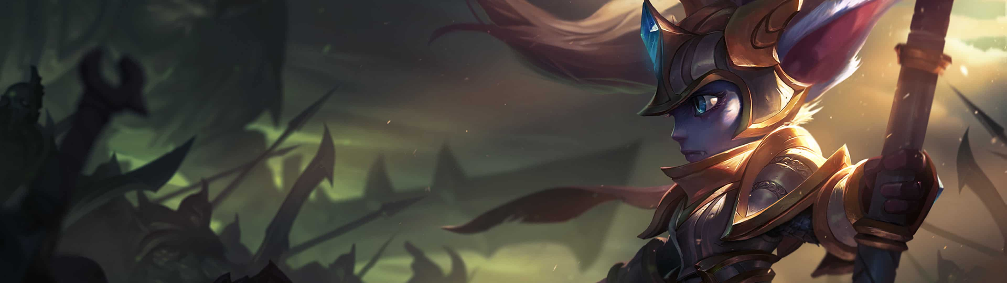 Related Images. league of legends champions dual monitor wallpaper