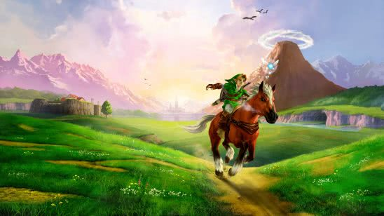 legend of zelda ocarina of time link riding horse uhd 4k wallpaper