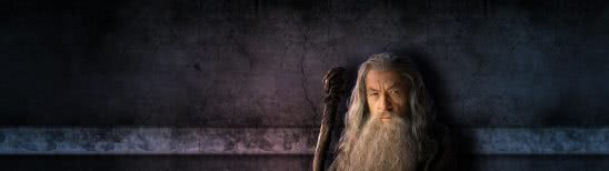 lord of the rings gandalf dual monitor wallpaper