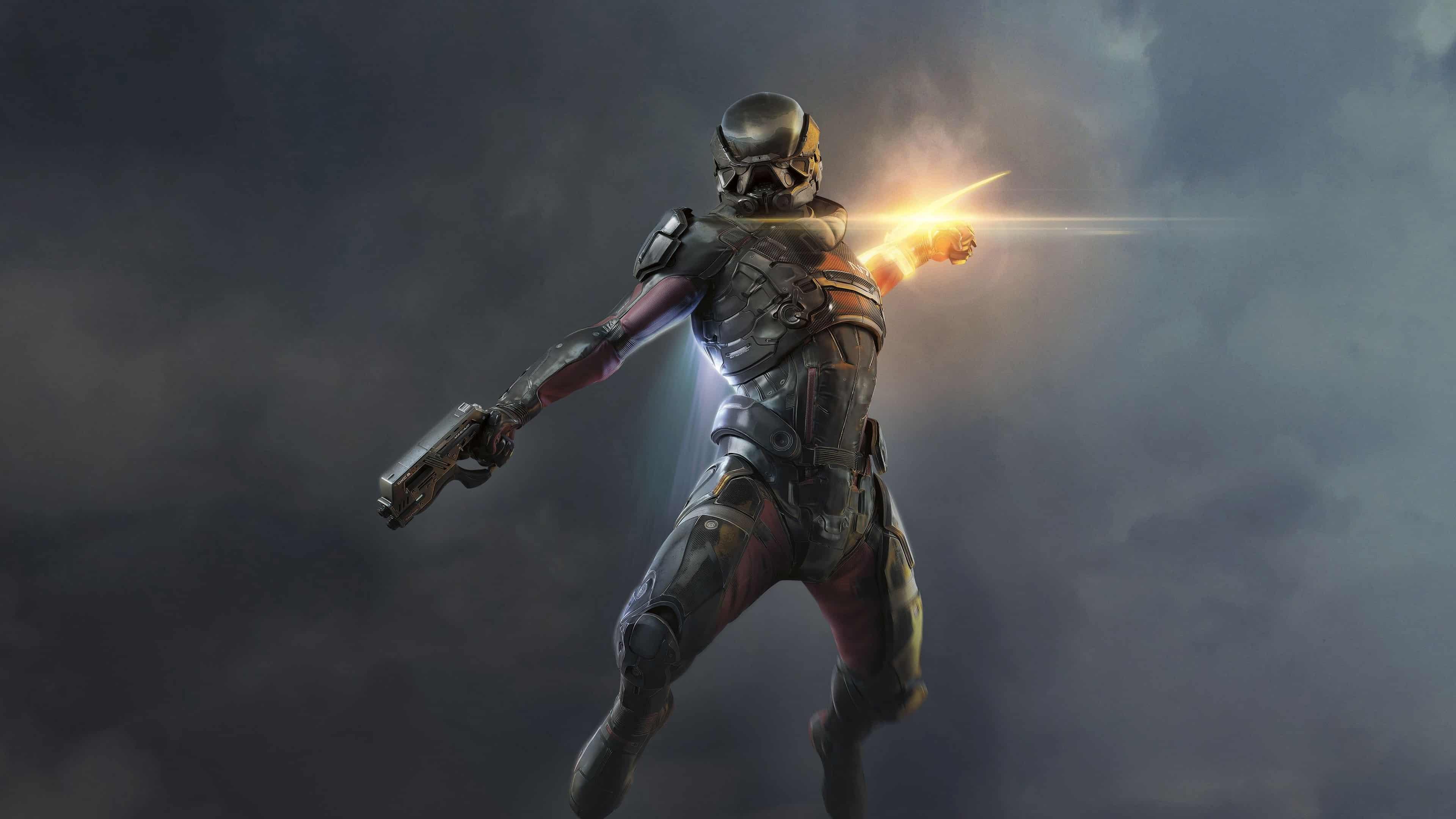 Mass Effect 4 Andromeda Ryder Uhd 4k Wallpaper Pixelz