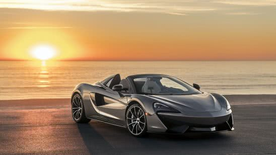 mclaren 570s spider grey uhd 4k wallpaper