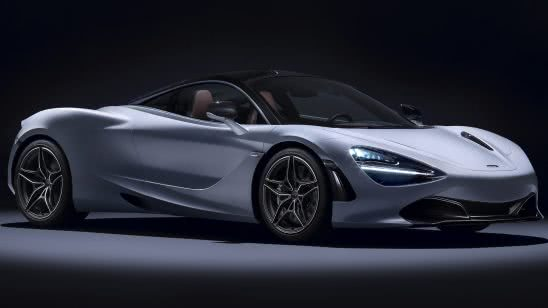 mclaren 720s white uhd 4k wallpaper