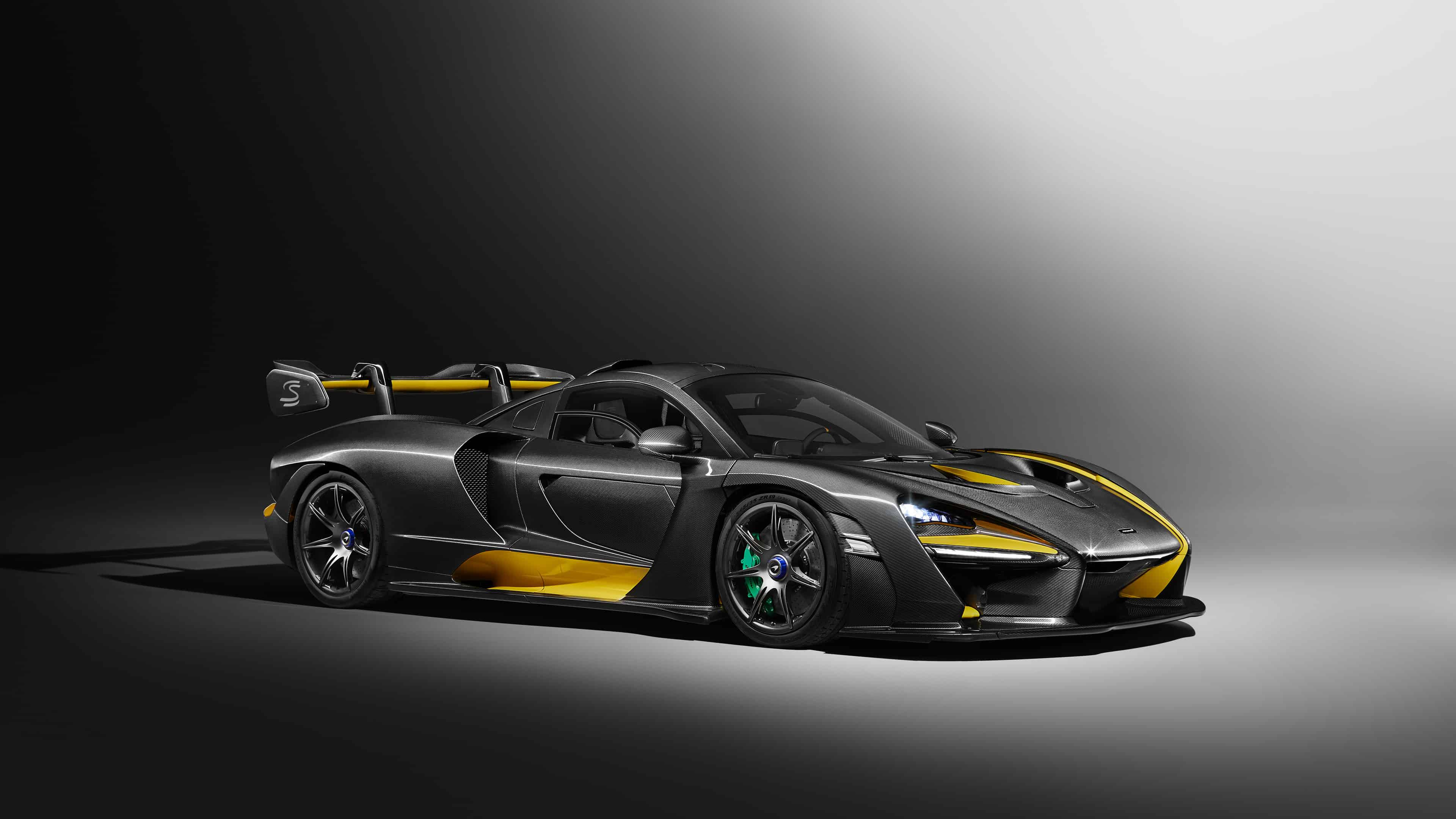 mclaren mso senna carbon theme uhd 4k wallpaper