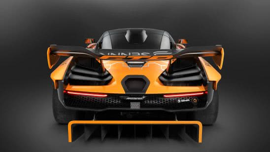mclaren senna gtr back uhd 4k wallpaper