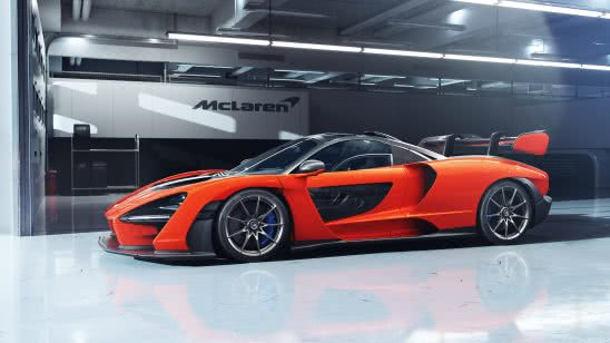mclaren senna orange uhd 4k wallpaper