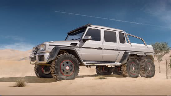 mercedes benz amg g63 6x6 uhd 4k wallpaper