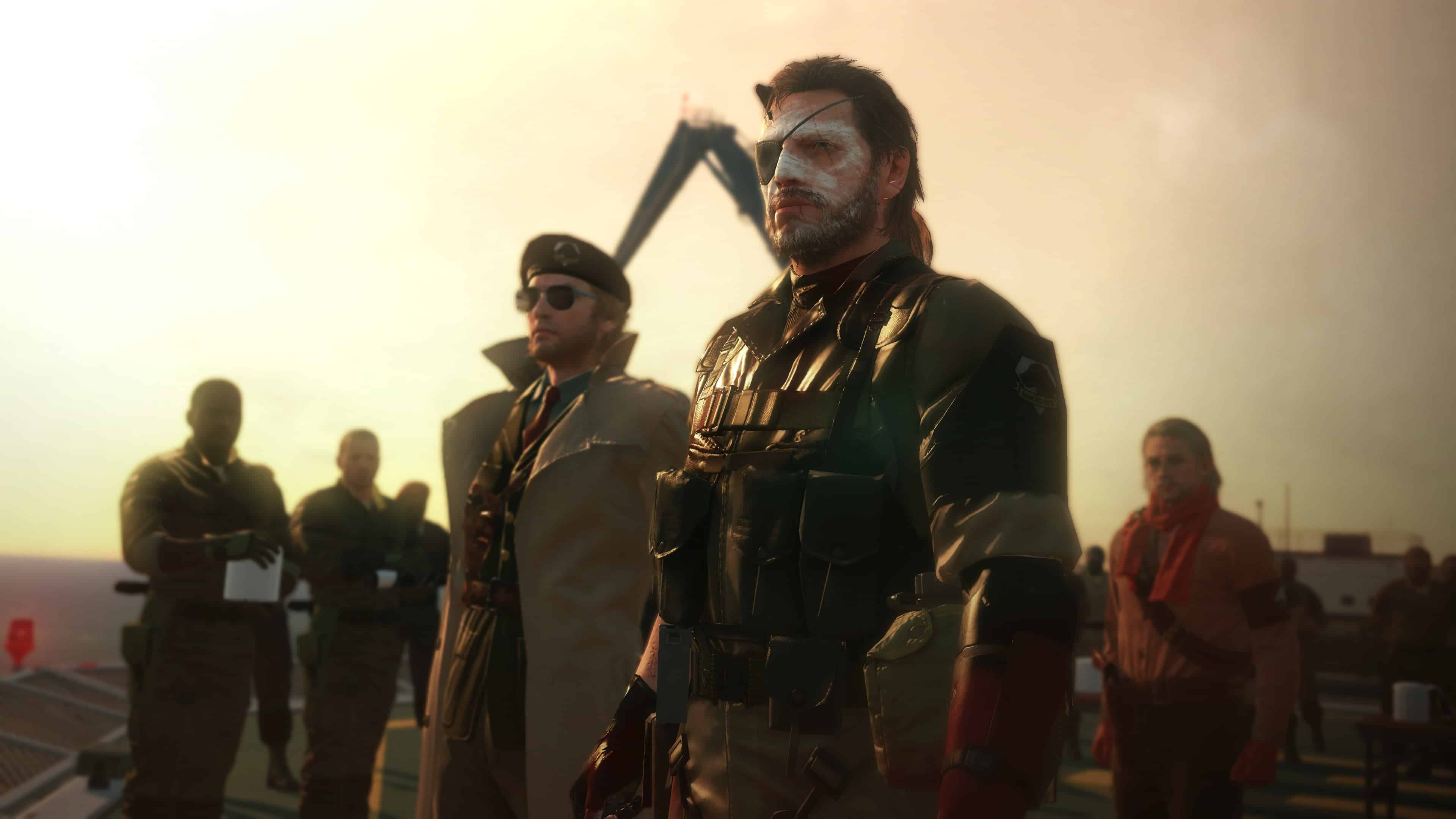 Metal Gear Solid 5 The Phantom Pain Big Boss Mother Base Uhd 4k