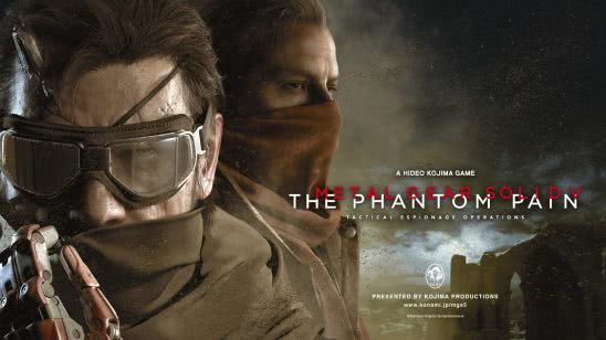metal gear solid 5 the phantom pain cover uhd 4k wallpaper
