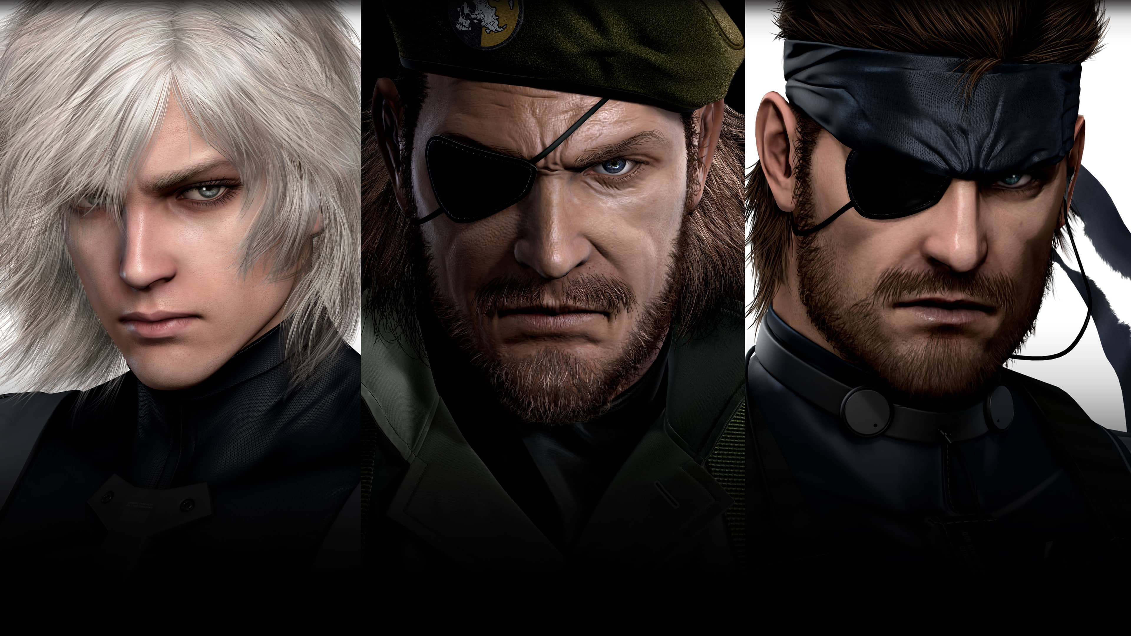metal gear solid hd collection uhd 4k wallpaper