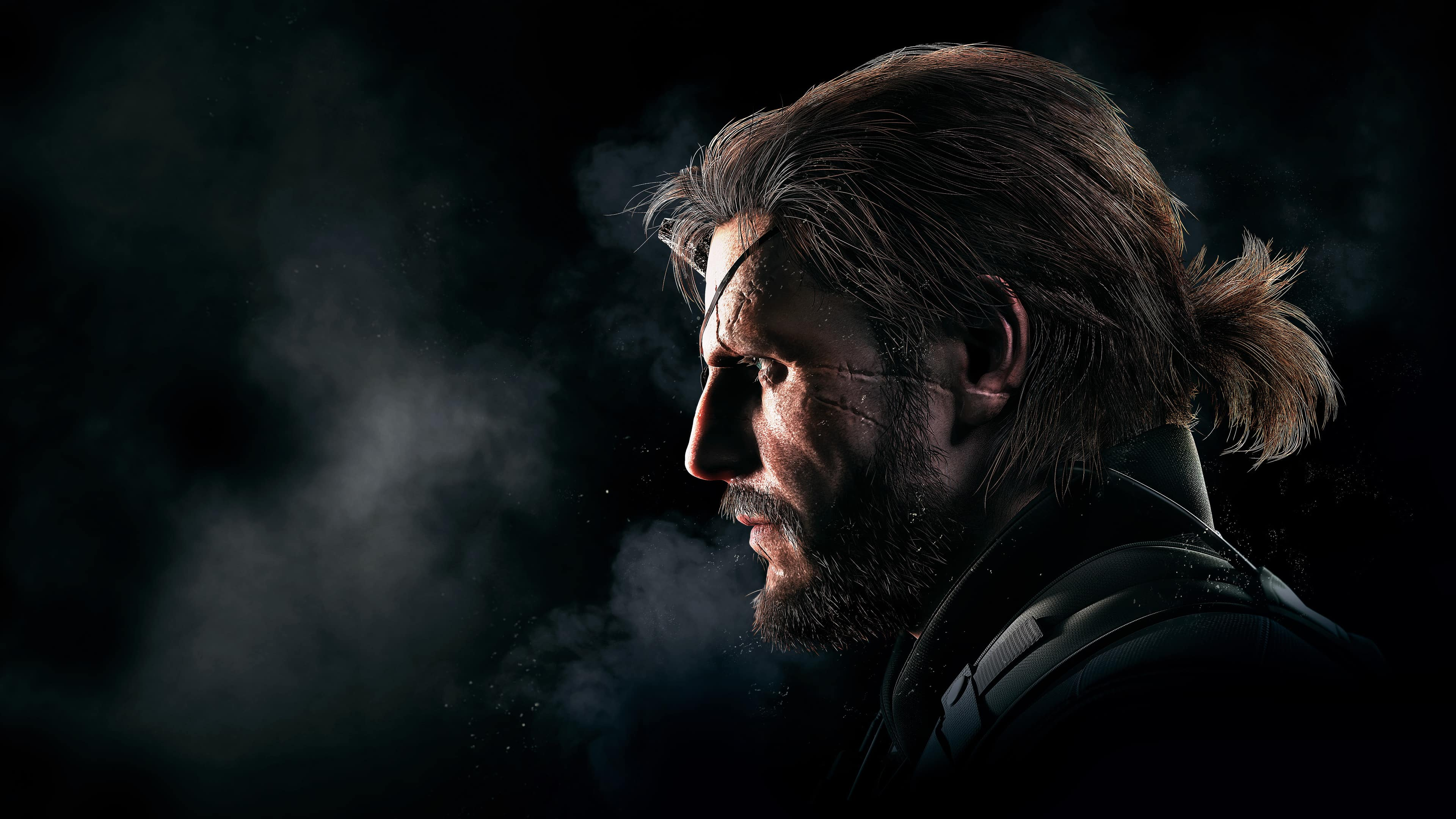 Mgs The Phantom Pain Big Boss Venom Snake Uhd 4k Wallpaper Pixelz