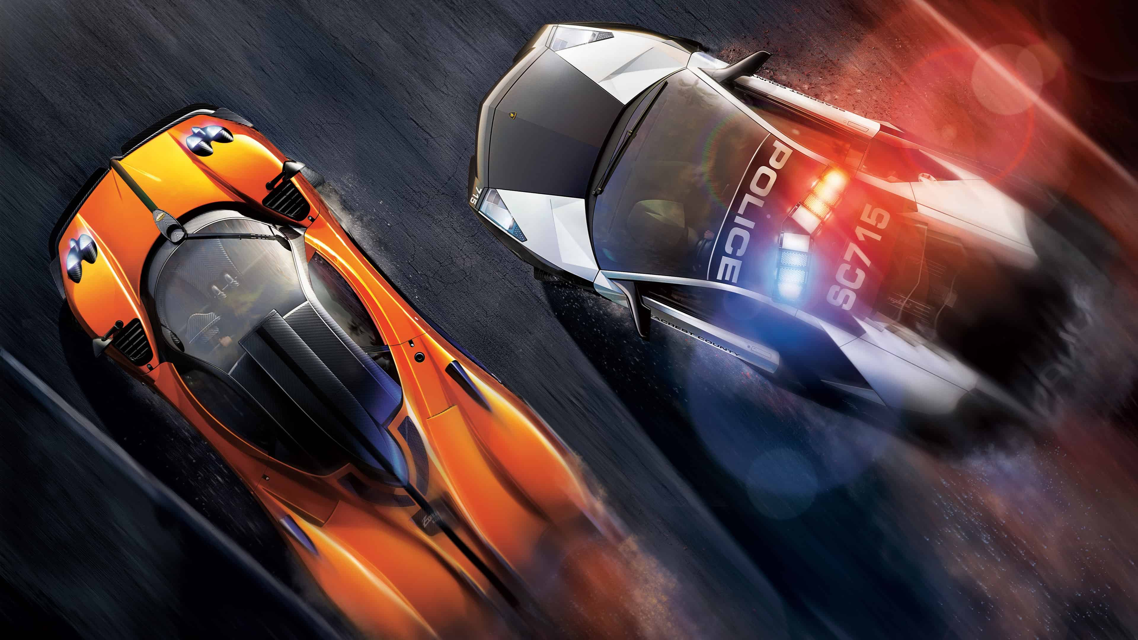 Need For Speed Hot Pursuit Police Chase Uhd 4k Wallpaper Pixelz