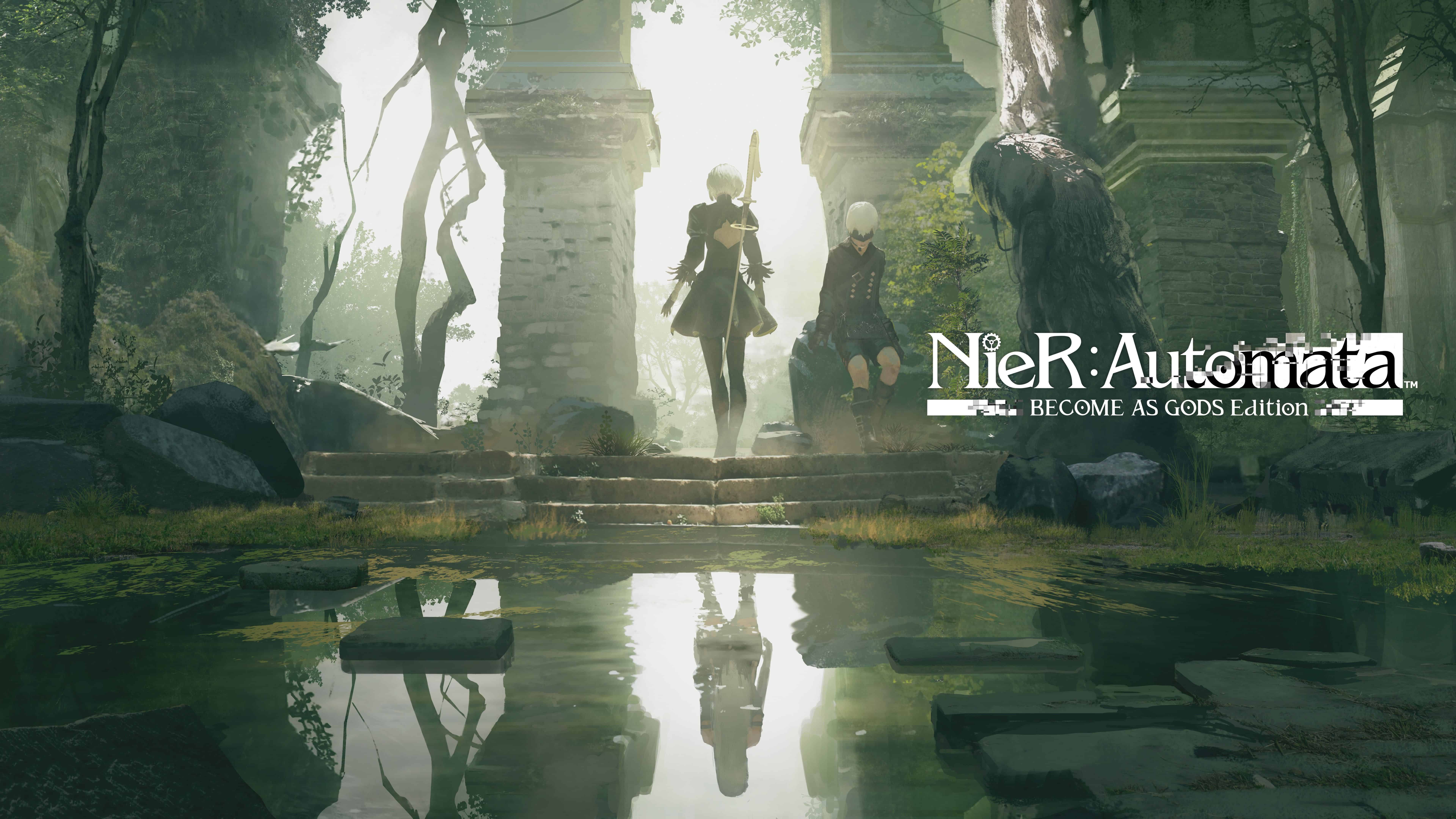 nier automata become as gods edition uhd 8k wallpaper