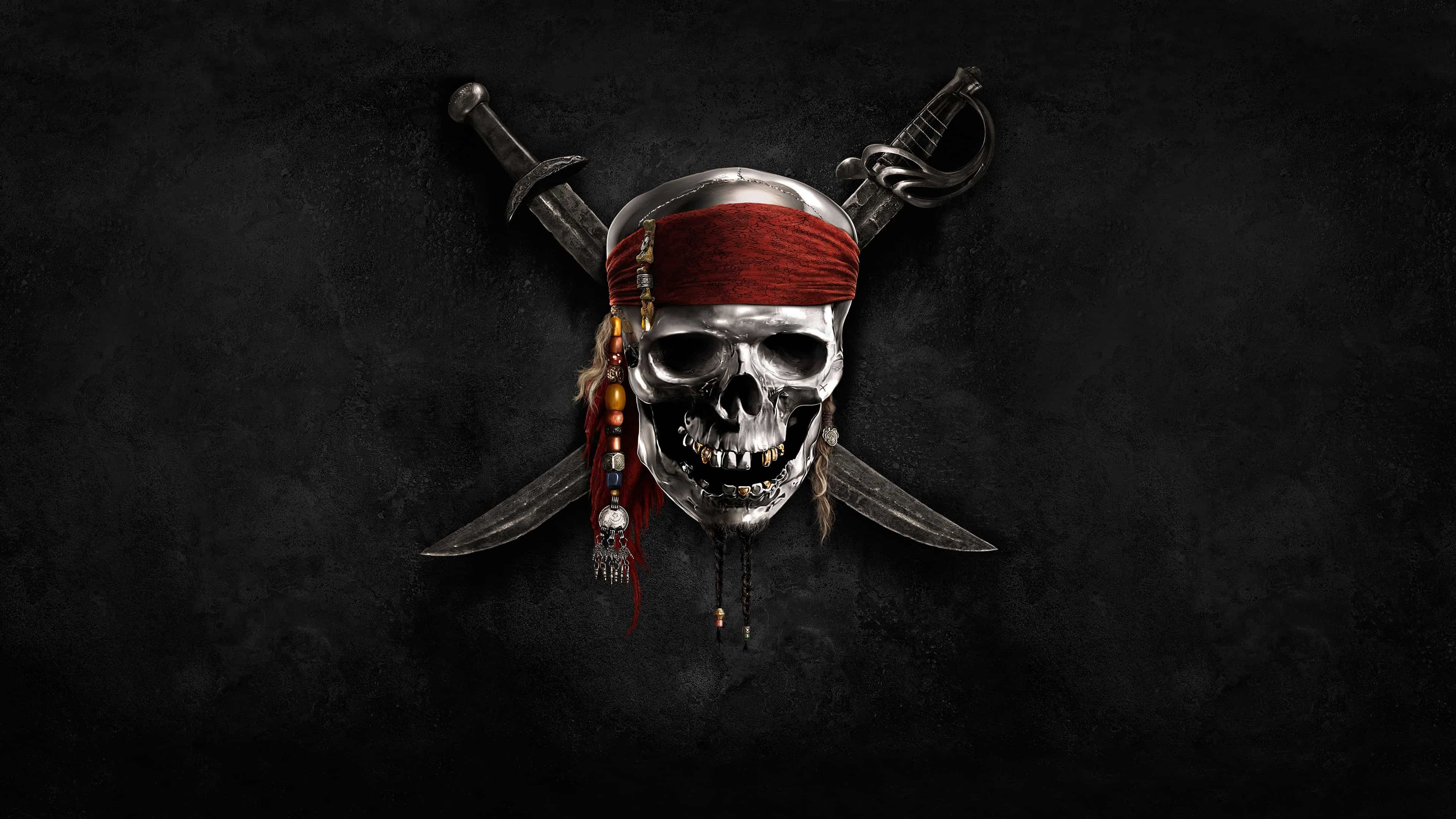 pirates of the caribbean flag uhd 4k wallpaper