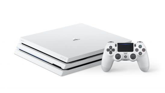 playstation 4 pro glacier white uhd 4k wallpaper