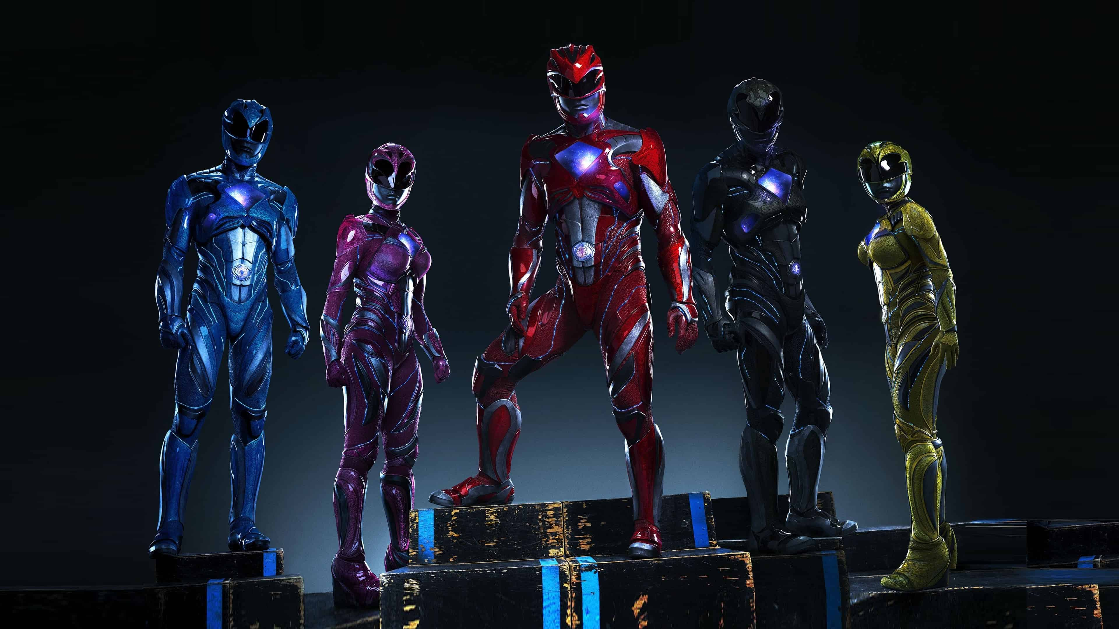 power rangers movie uhd 4k wallpaper