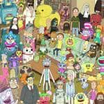 rick and morty characters uhd 4k wallpaper