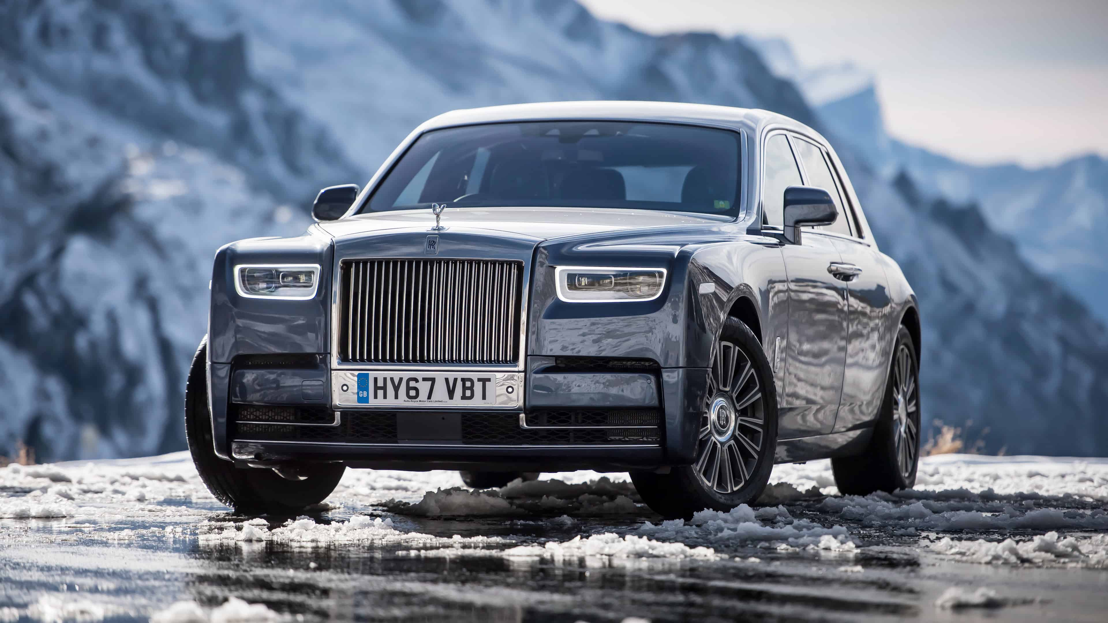 rolls royce phantom uhd 4k wallpaper