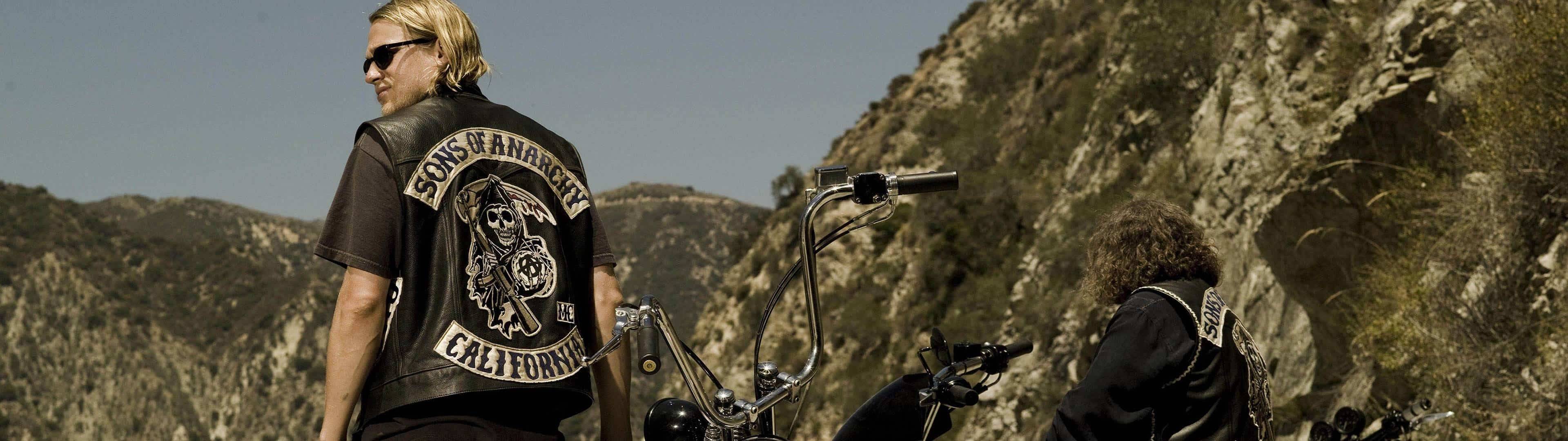 sons of anarchy jax dual monitor wallpaper
