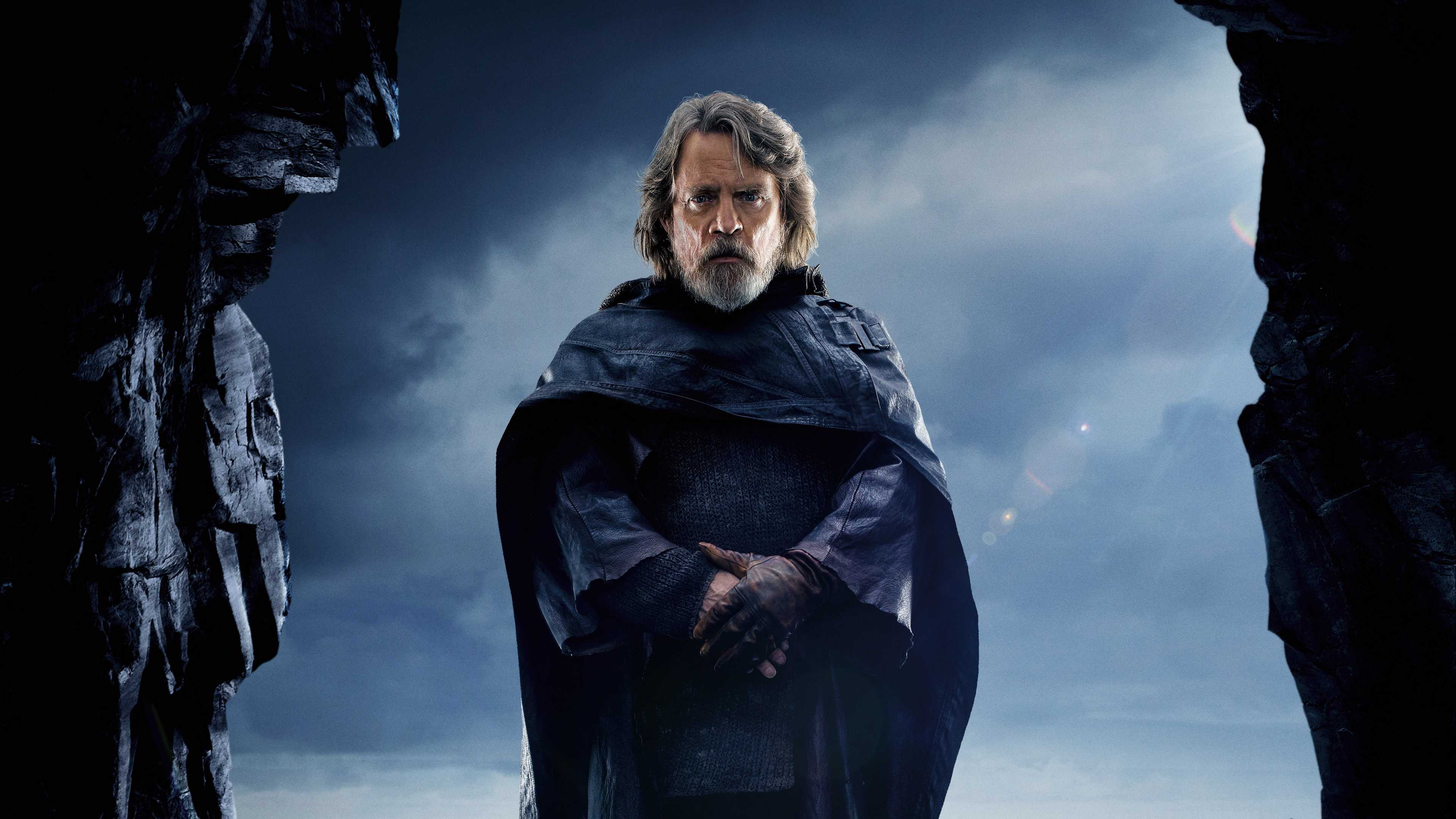 Star Wars The Last Jedi Luke Skywalker Uhd 4k Wallpaper