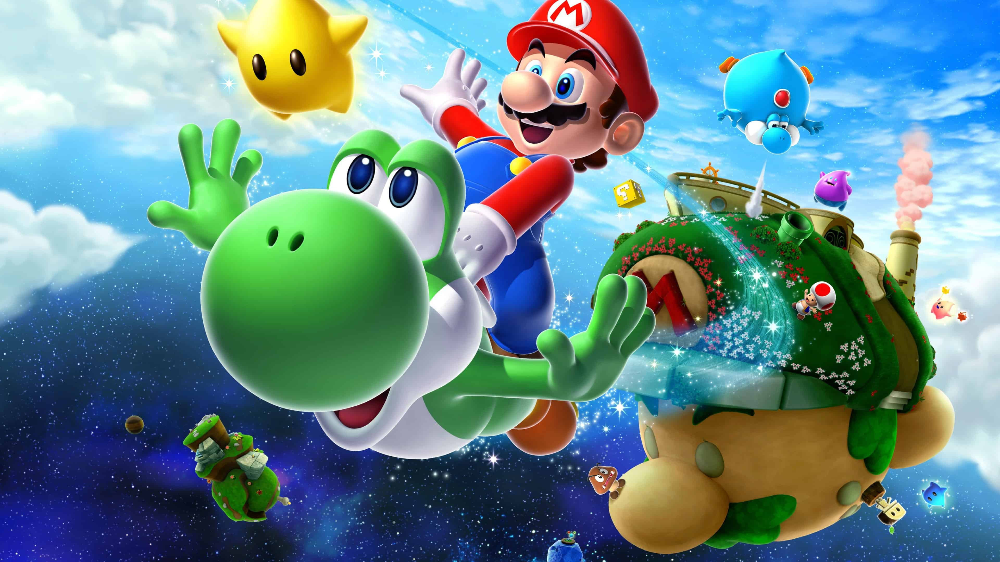 Super Mario Galaxy 2 Uhd 4k Wallpaper Pixelz