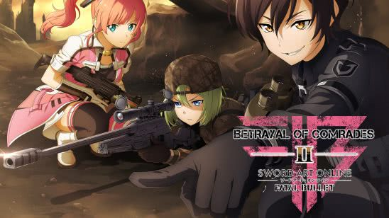 sword art online fatal bullet betrayal of comrades uhd 4k wallpaper