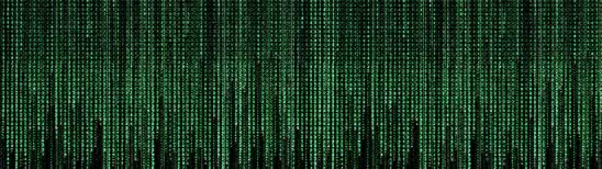 the matrix code dual monitor wallpaper