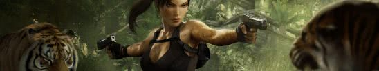 tomb raider trilogy lara croft triple monitor wallpaper