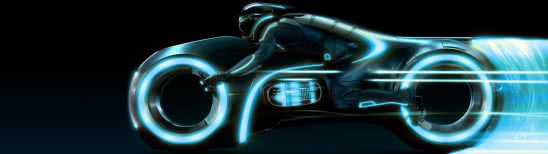 tron legacy dual monitor wallpaper