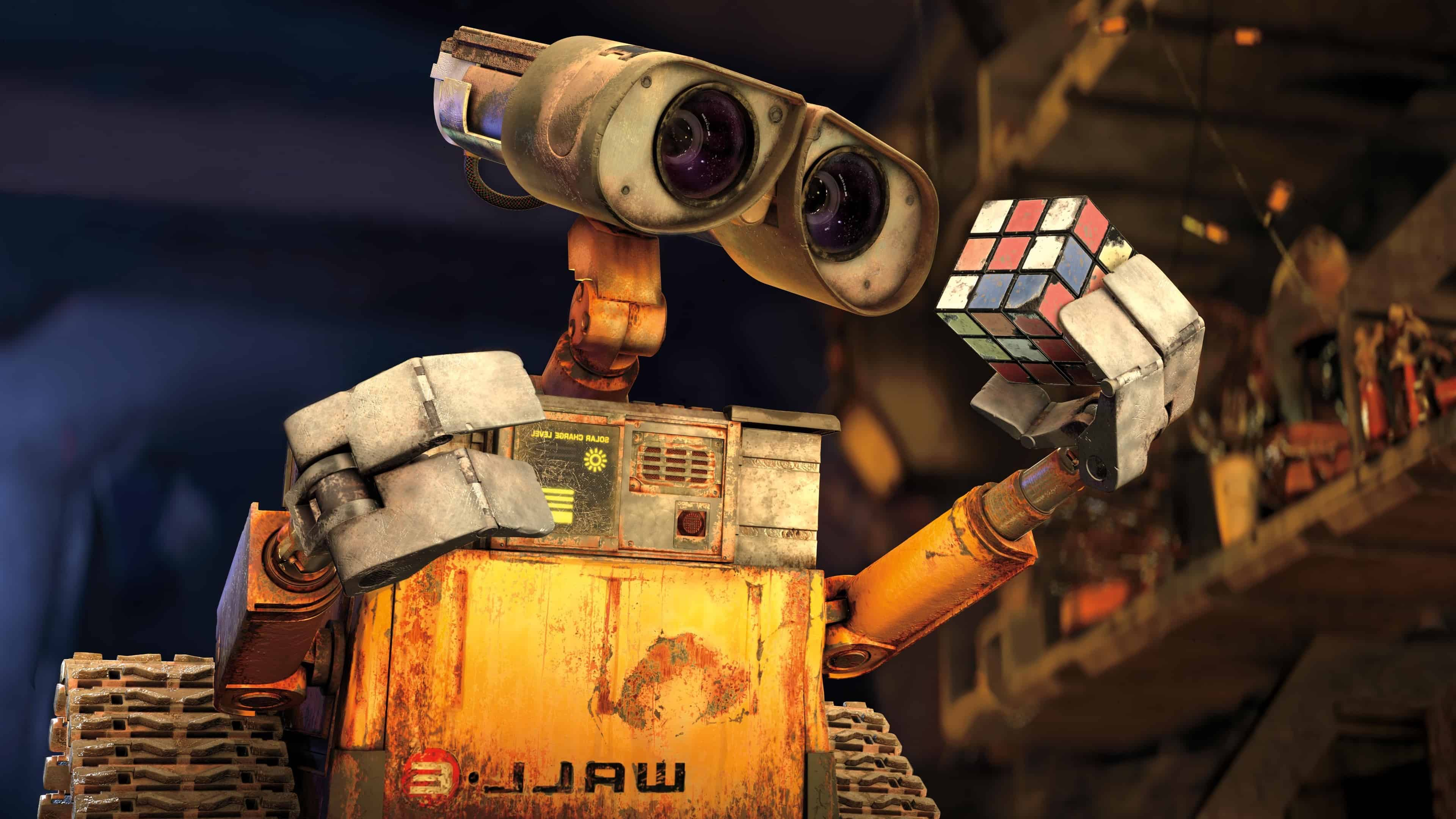 wall-e uhd 4k wallpaper