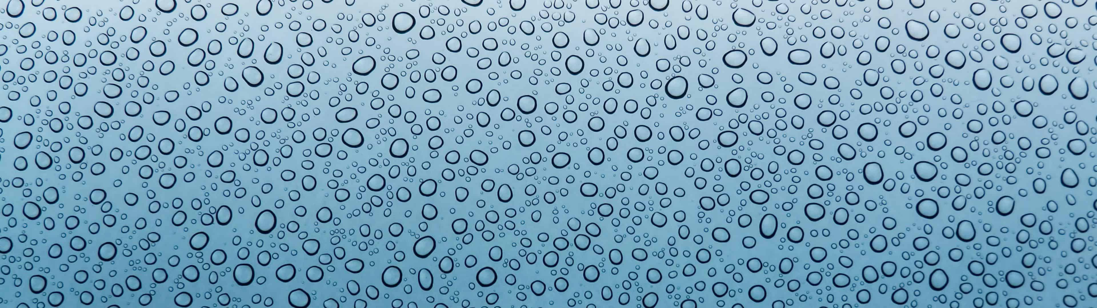 water droplets dual monitor wallpaper