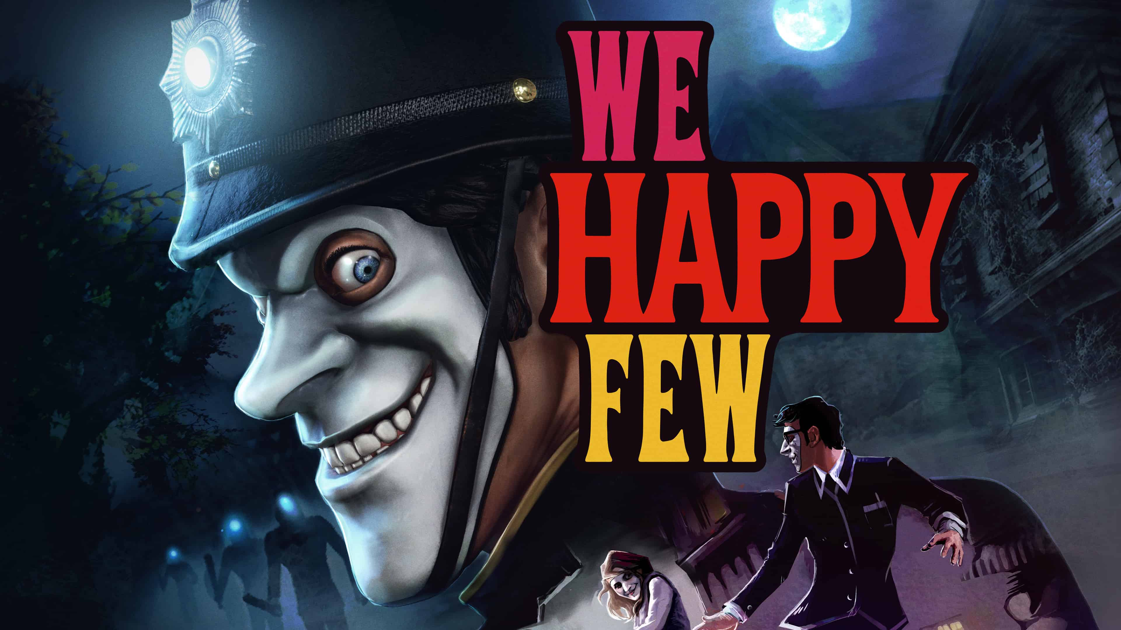 we happy few uhd 4k wallpaper