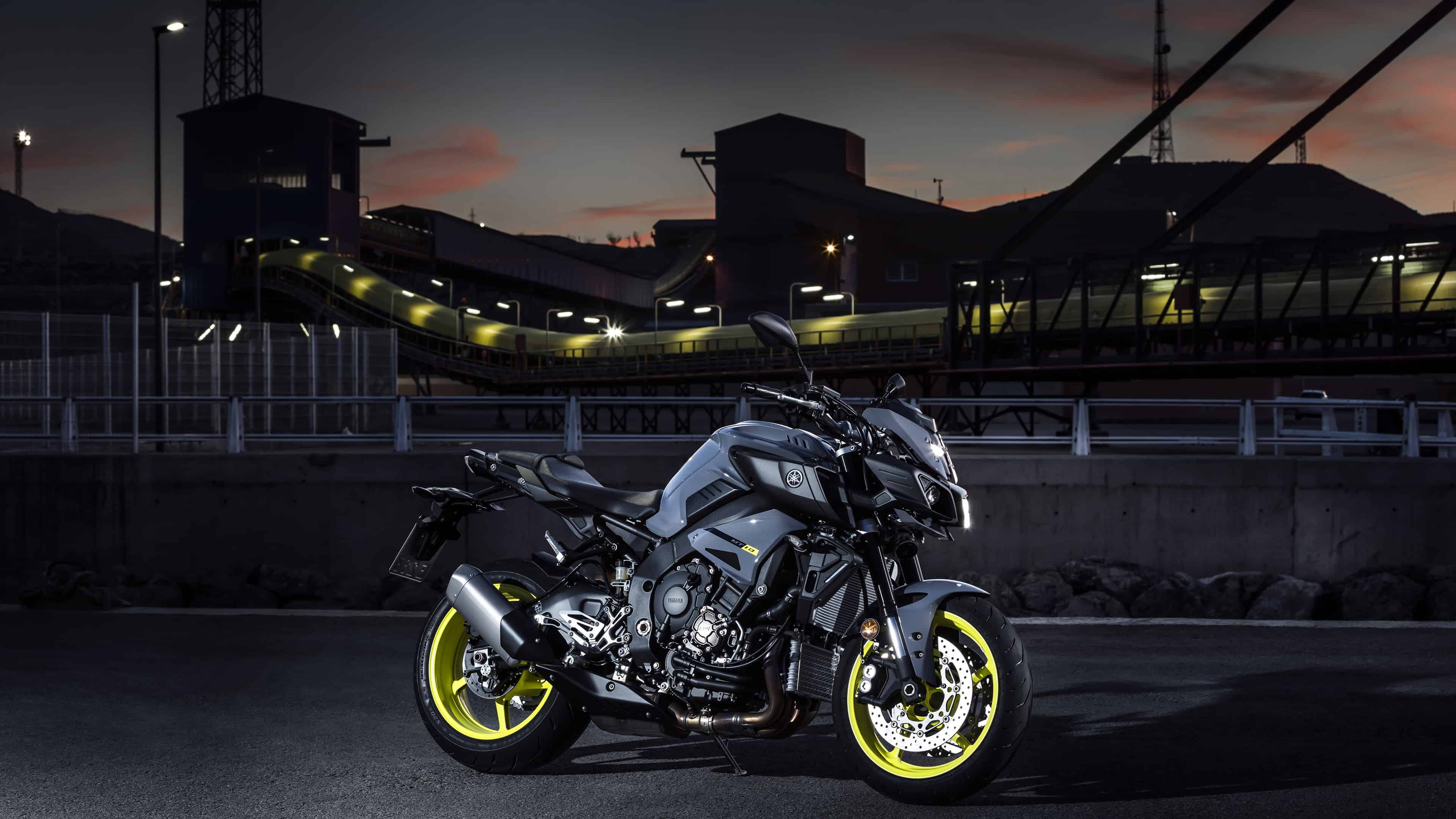 Yamaha MT 10 UHD 4K Wallpaper
