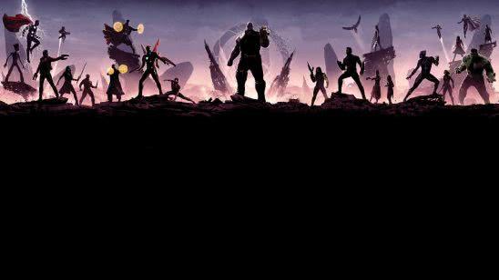 avengers infinity minimalistic uhd 4k wallpaper