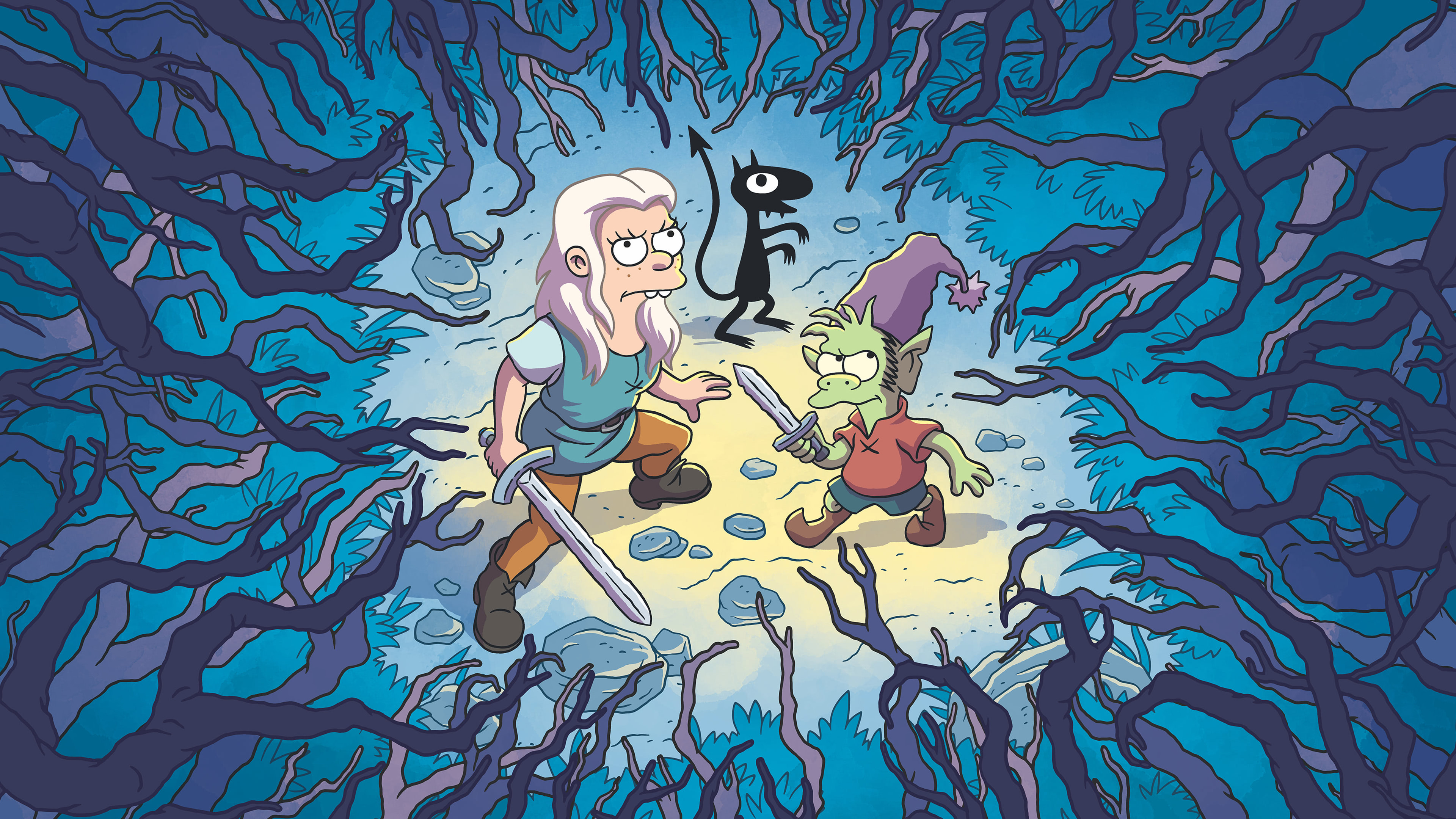 disenchantment uhd 4k wallpaper