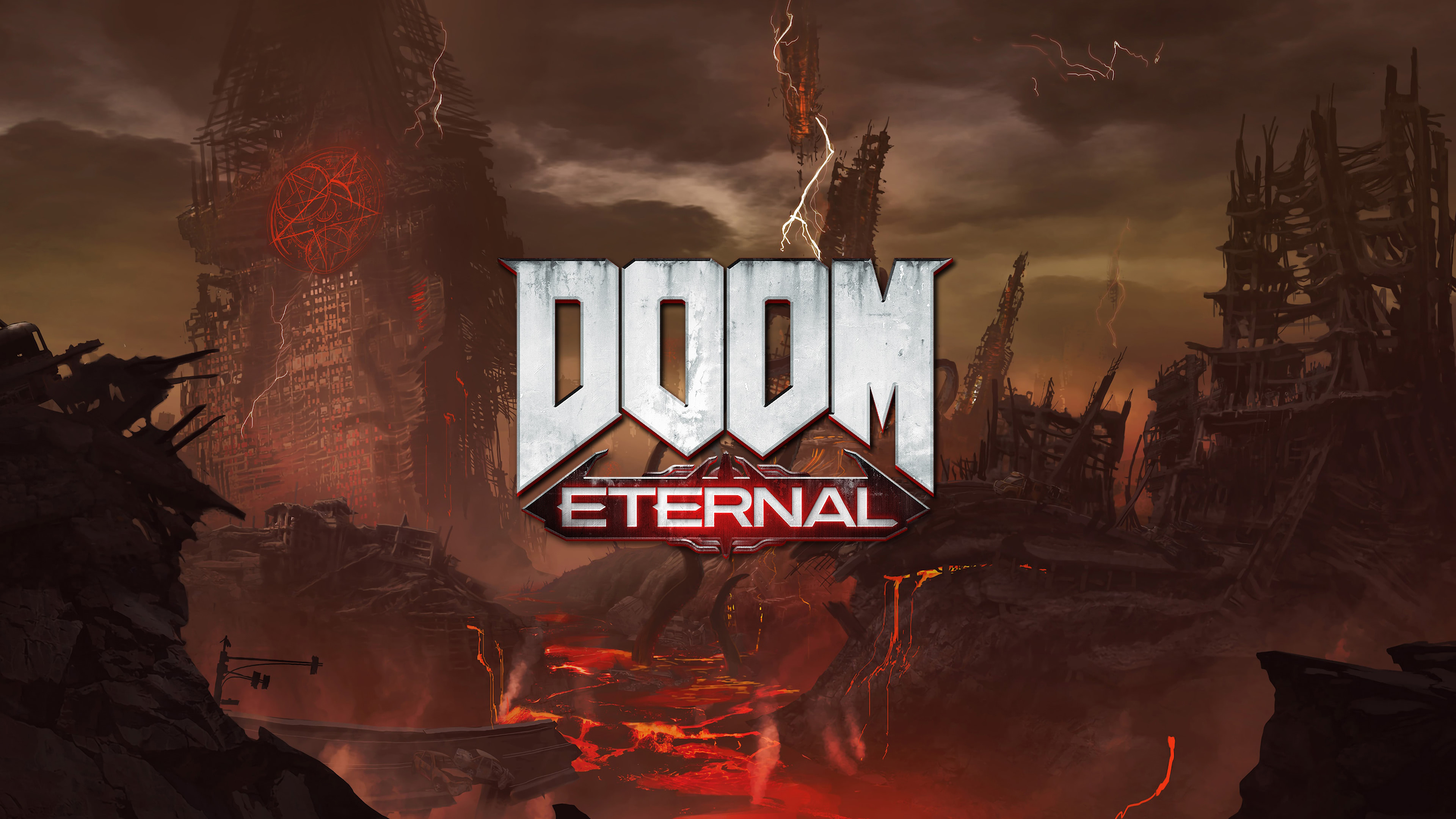 Doom Eternal Uhd 4k Wallpaper Pixelz
