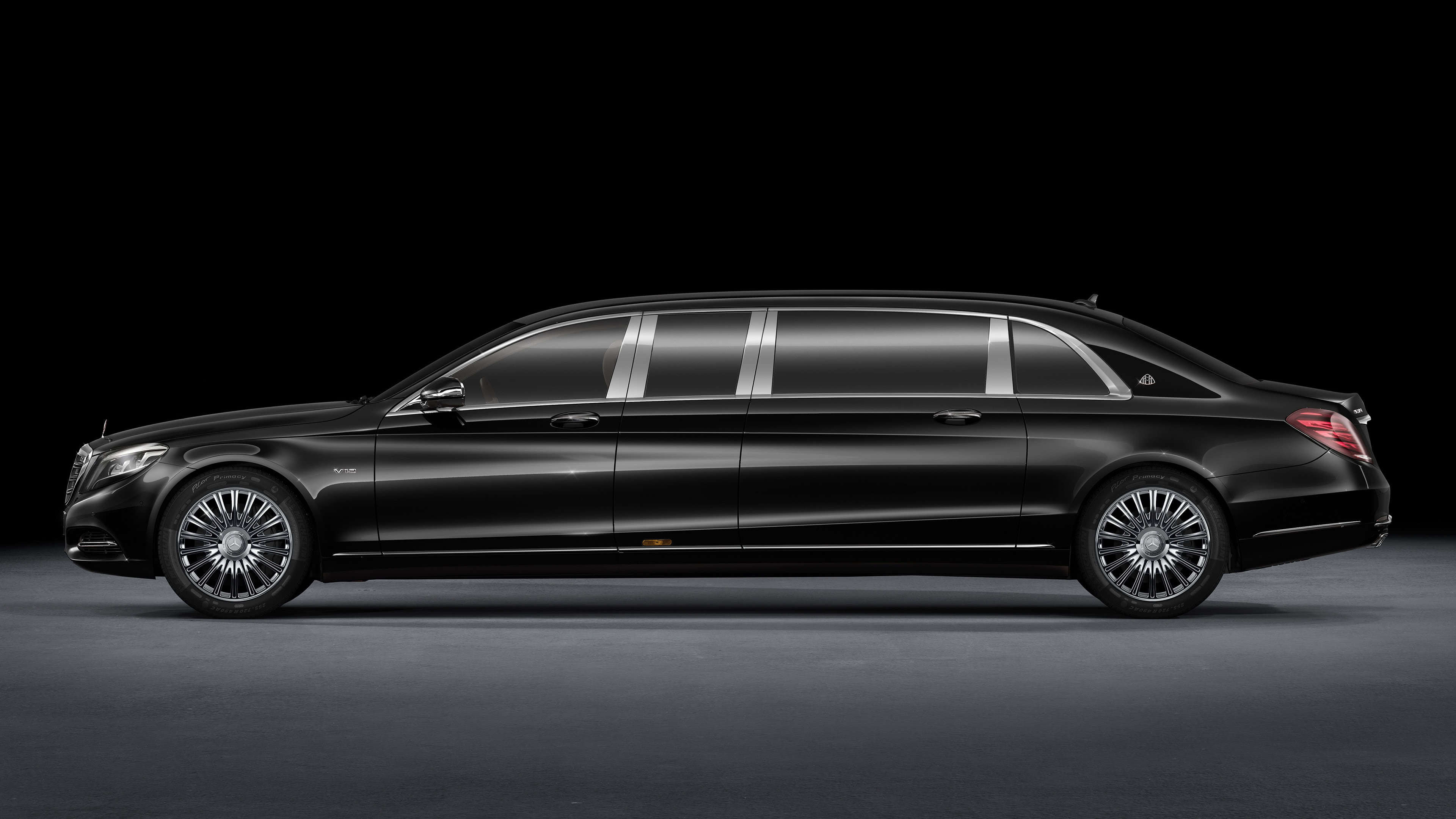 mercedes maybach s600 pullman sedan uhd 4k wallpaper