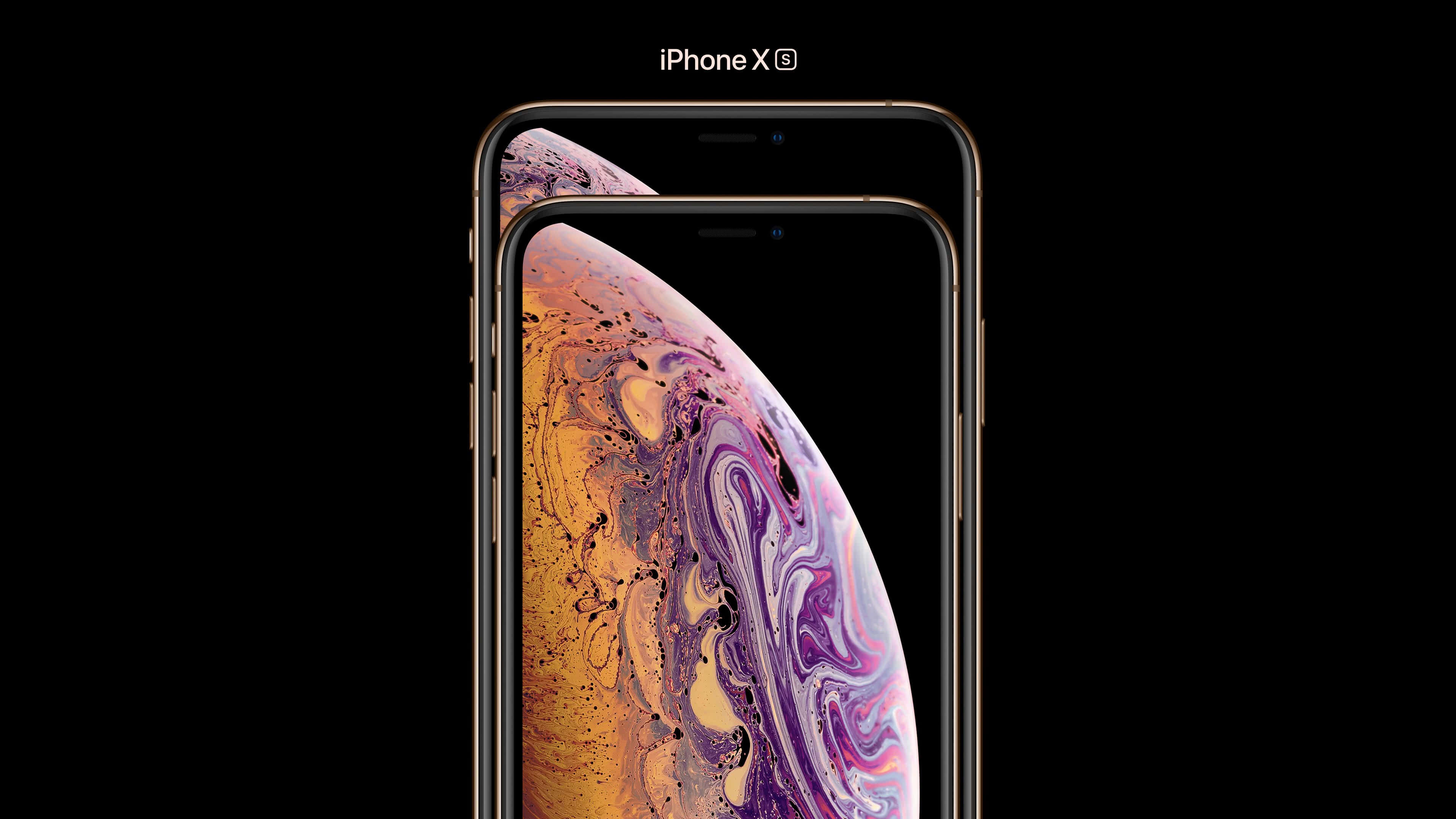 Apple Iphone Xs Max Gold Front Uhd 4k Wallpaper Pixelz