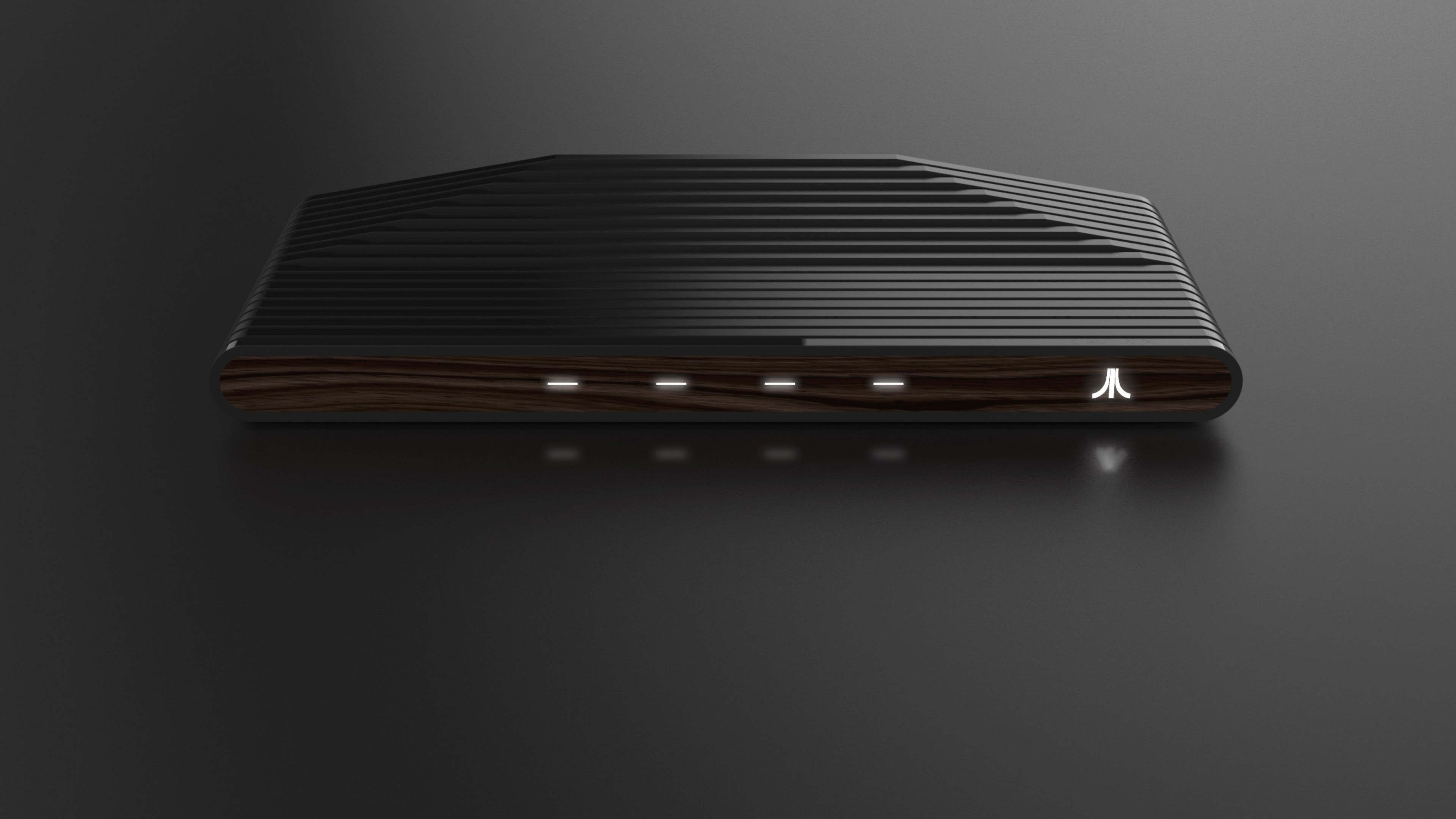 ataribox retro game console uhd 4k wallpaper