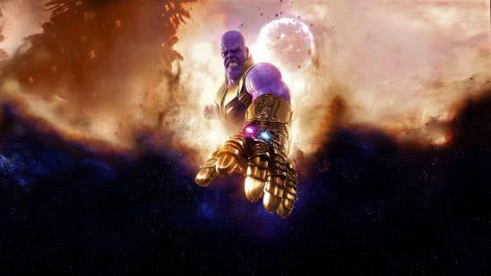 avengers infinity war thanos infinity gauntlet uhd 4k wallpaper