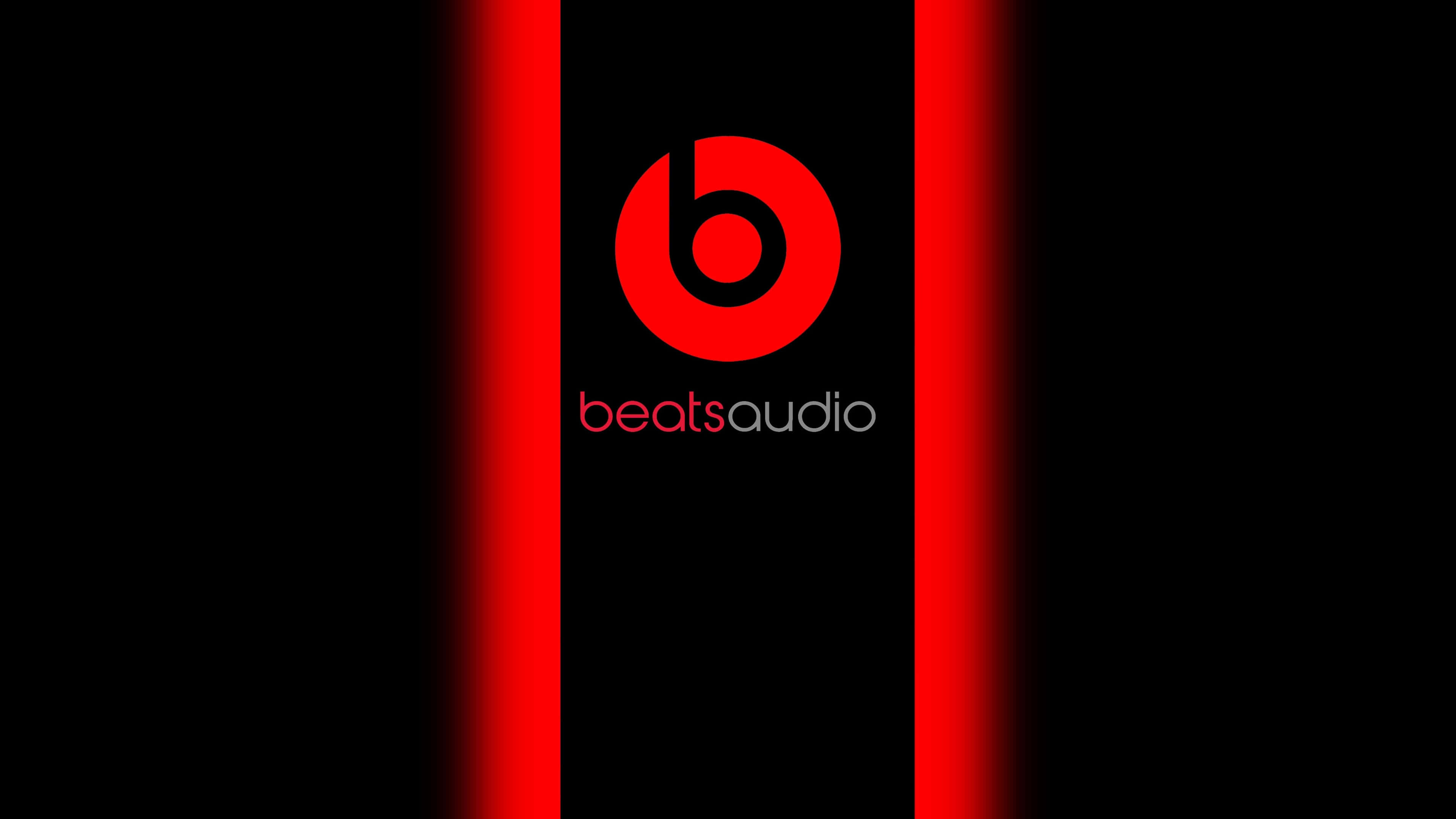 beats audio logo uhd 4k wallpaper