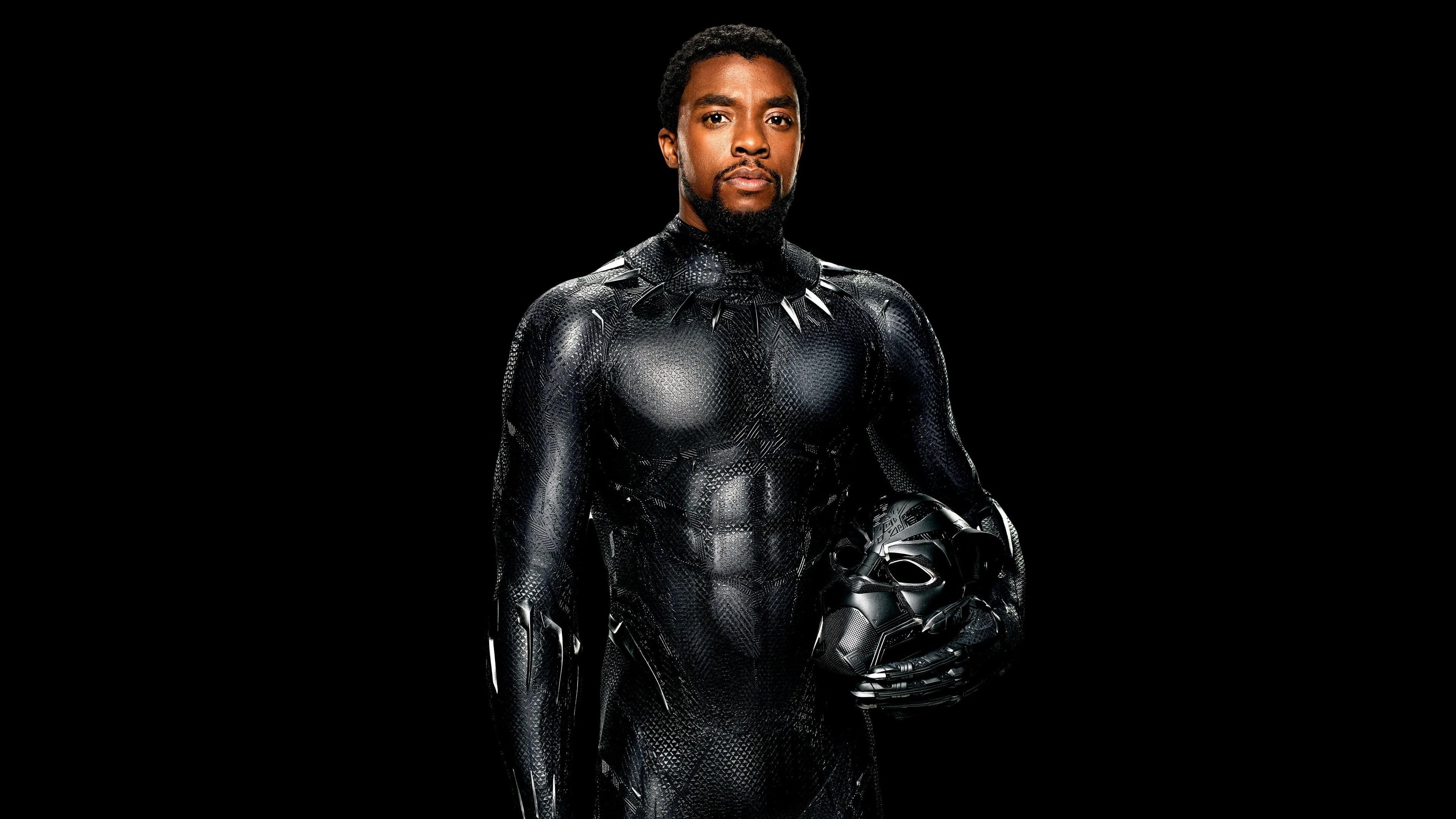 black panther chadwick boseman uhd 4k wallpaper